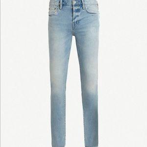 NWT Allsaints Skinny Cigarette Jeans